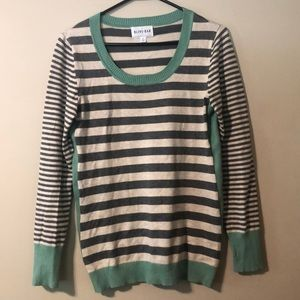 Olive & Oak Maryanne Striped Pullover Sweater